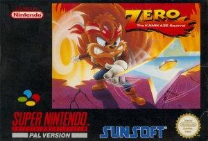 Zero the Kamikaze Squirrel per Super Nintendo Entertainment System
