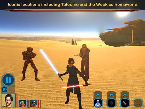 Star Wars: Knights of the Old Republic è a sconto su App Store e Google Play