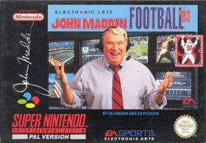 John Madden Football '93 per Super Nintendo Entertainment System