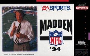 Madden NFL '94 per Super Nintendo Entertainment System