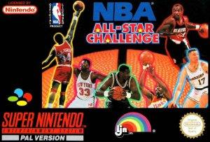 NBA All-Star Challenge per Super Nintendo Entertainment System