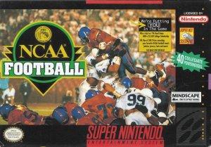 NCAA Football per Super Nintendo Entertainment System