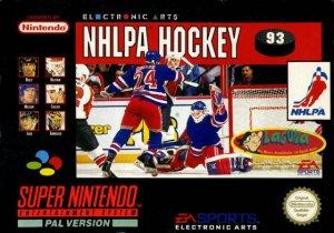 NHLPA Hockey 93 per Super Nintendo Entertainment System
