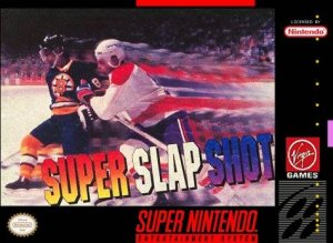 Super Slap Shot per Super Nintendo Entertainment System