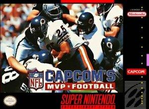 Capcom's MVP Football per Super Nintendo Entertainment System