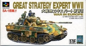 Daisenryaku Expert WWII - War in Europe per Super Nintendo Entertainment System