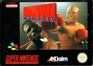 Foreman For Real per Super Nintendo Entertainment System