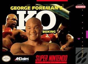 George Foreman's KO Boxing per Super Nintendo Entertainment System