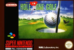 HAL's Hole in One Golf per Super Nintendo Entertainment System