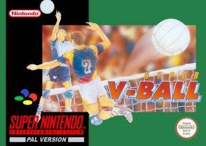 Hyper V-Ball per Super Nintendo Entertainment System