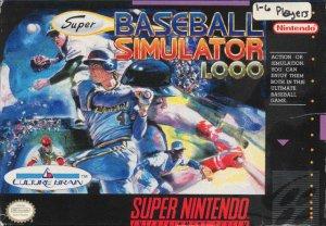 Super Baseball Simulator 1000 per Super Nintendo Entertainment System