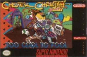 Chester Cheetah: Too Cool to Fool per Super Nintendo Entertainment System