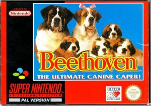 Beethoven's 2nd per Super Nintendo Entertainment System