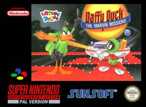 Daffy Duck: The Marvin Missions per Super Nintendo Entertainment System