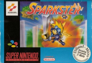 Sparkster per Super Nintendo Entertainment System