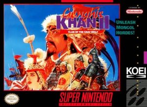 Genghis Khan II: Clan of the Gray Wolf per Super Nintendo Entertainment System