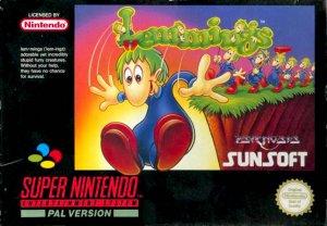 Lemmings per Super Nintendo Entertainment System