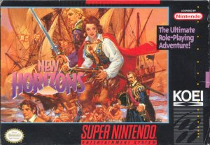 Uncharted Waters: New Horizons per Super Nintendo Entertainment System
