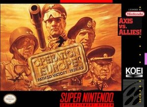 Operation Europe: Path to Victory 1939-45 per Super Nintendo Entertainment System