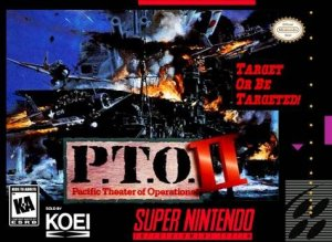 P.T.O. II: Pacific Theater of Operations per Super Nintendo Entertainment System