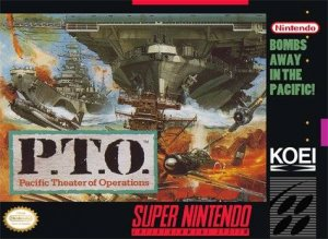 P.T.O.: Pacific Theater of Operations per Super Nintendo Entertainment System