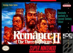Romance of the Three Kingdoms II per Super Nintendo Entertainment System