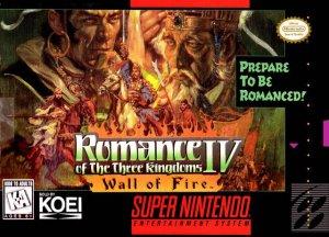 Romance of the Three Kingdoms IV: Wall of Fire per Super Nintendo Entertainment System