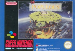 Populous per Super Nintendo Entertainment System