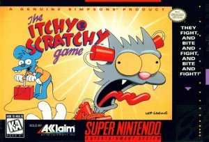 The Itchy and Scratchy Game per Super Nintendo Entertainment System