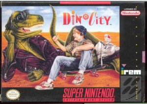 Dino City per Super Nintendo Entertainment System