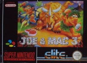 Joe & Mac 3: Lost in the Tropics per Super Nintendo Entertainment System