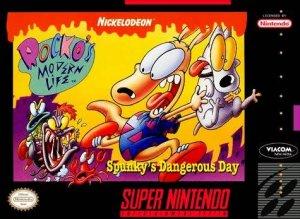 Rocko's Modern Life: Spunky's Dangerous Day per Super Nintendo Entertainment System