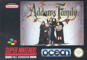 The Addams Family per Super Nintendo Entertainment System