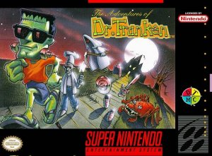 The Adventures of Dr. Franken per Super Nintendo Entertainment System