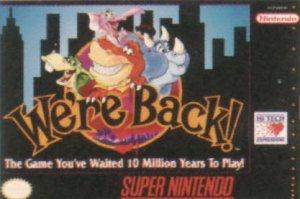 We're Back!: A Dinosaur Story per Super Nintendo Entertainment System
