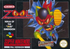 "Zool: Ninja of the ""Nth"" Dimension per Super Nintendo Entertainment System"