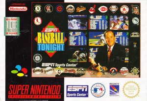 ESPN Baseball Tonight per Super Nintendo Entertainment System