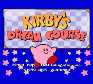 Kirby's Dream Course per Nintendo Wii U