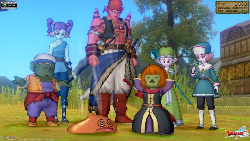 Dragon Quest X uscirà anche su Nintendo NX, Square Enix conferma