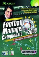 Football Manager Campionato 2003 per Xbox