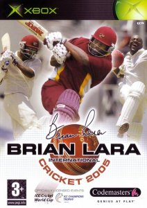 Brian Lara International Cricket 2005 per Xbox