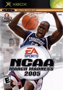 NCAA March Madness 2005 per Xbox