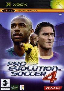 Pro Evolution Soccer 4 (Winning Eleven 8) per Xbox
