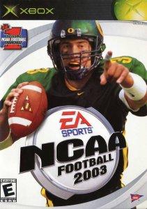NCAA Football 2003 per Xbox