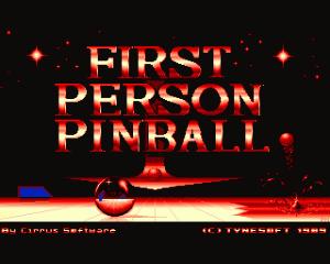 1st Person Pinball per Amiga