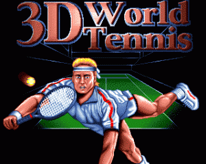 3D World Tennis per Amiga