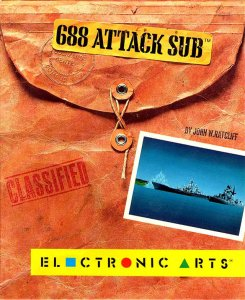 688 Attack Sub per Amiga