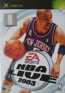 NBA Live 2003 per Xbox