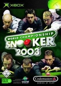 World Championship Snooker 2003 per Xbox