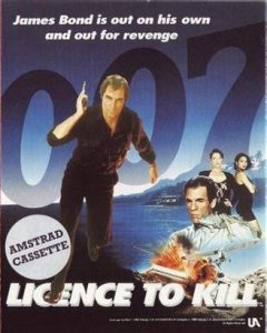 007: Licence to Kill per Amstrad CPC
